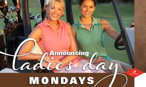 Ladies Golf every Monday